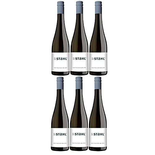 Winzerhof Stahl Sauvignon Blanc Weißwein Wein trocken Franken Deutschland (6 Flaschen)