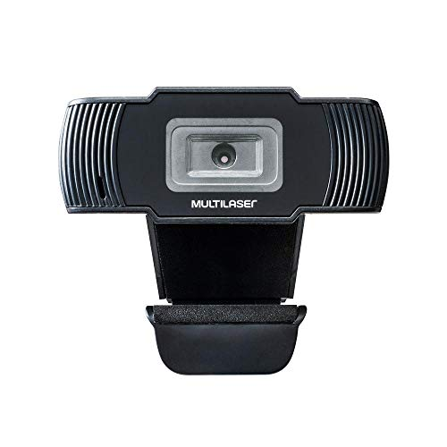Webcam Multilaser Office Hd 720P Usb Preta - AC339