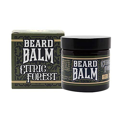 Hey Joe! Hey Joe - Beard Balm Nº6 Citric Forest | Balsamo para Barba 60Ml con Argán, Jojoba, Coco y Manteca de Karité. Aroma Pino y Limón. 60 ml