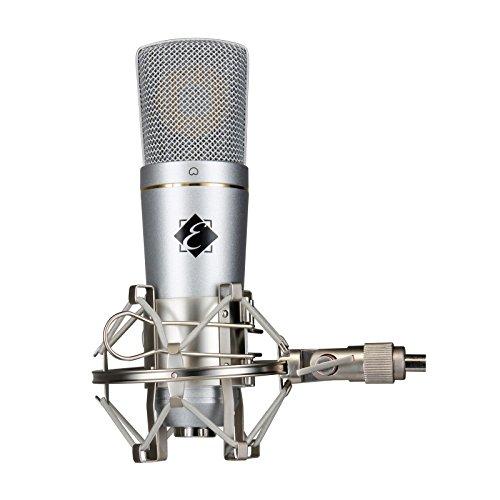 Eagletone UM30 - Micrófono de condensador cardioide con salida USB, color gris