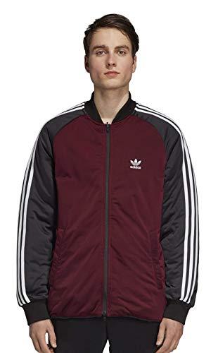 adidas Originals Men's Superstar Reversible Jacket, black, 2XL