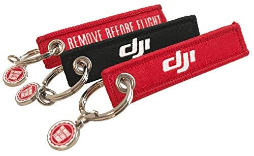 REMOVE BEFORE FLIGHT Mini-DJI-Anhänger 3 Stück