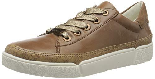 ara Damen ROM Sneaker, Braun (Natur, Cognac 20), 38.5 EU(5.5 UK)