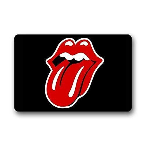 LINFENG Alfombrillas Felpudo Rolling Stone 23.6 x 15.7 Pulgadas