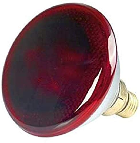 Medisana 88255 Infrarot Lampe IRL Ersatzlampe, rot