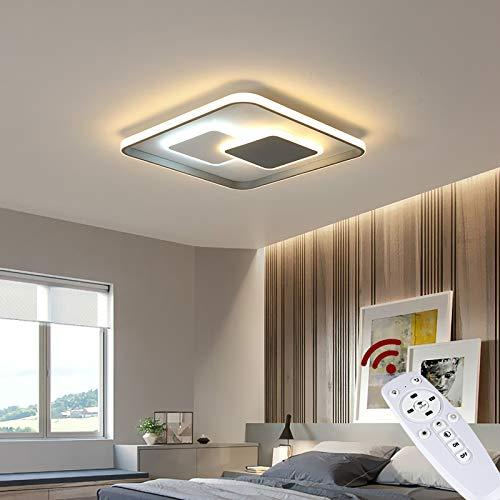 NEU Euroton 9641FX,46x46 cm max 122W LED Deckenleuchte mit Fernbedienung Lichtfarbe/Helligkeit einstellbar (9641+FX)