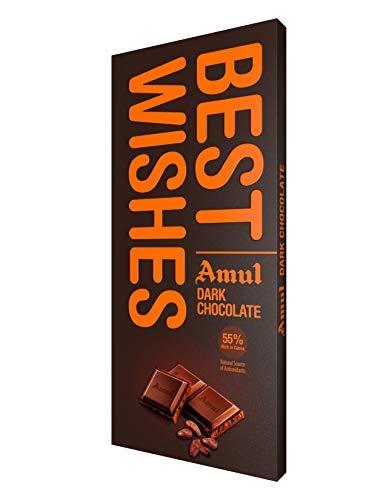 Amul Dark Chocolate - BESTWISHES, 150 g