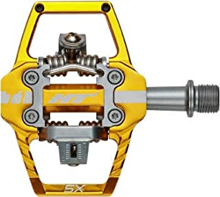 T1-Sx Bmx Pedals Gold 68X84x17mm Cleat Included