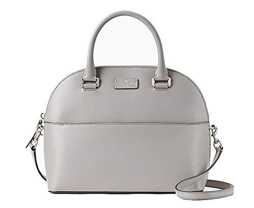 Kate Spade Grove Street Carli Leather Crossbody Bag Purse Satchel Shoulder Bag (Soft Taupe)