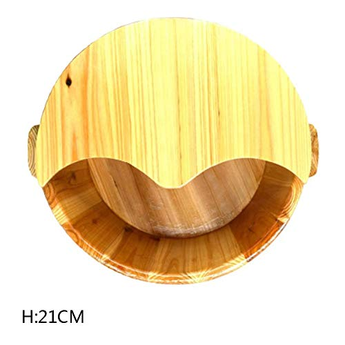Affordable XingKunBMshop Foot Bath Barrel Bucket Feet Foot Tub Pedicure Basin Wood Foot Basin Wooden...