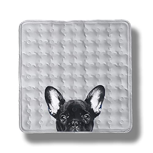 Avantpet Reversible Comfortable Pet Cooling Pads for Cats and Dogs, Cooling Gel pad, Pressure Activated Self Cooling Dog Sleeping Bed, Keep a Pet Cool on Hot Weather, XS, French Bulldog