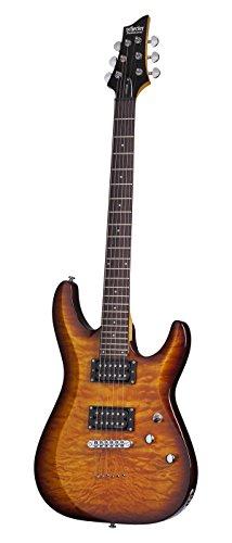 Schecter C-6 Plus VSB Guitarra eléctrica de cuerpo sólido, VSB