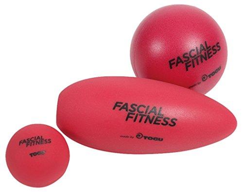 Togu Fascial Fitness 3er Ball Set Faszienmassage, rot, XS,S,M