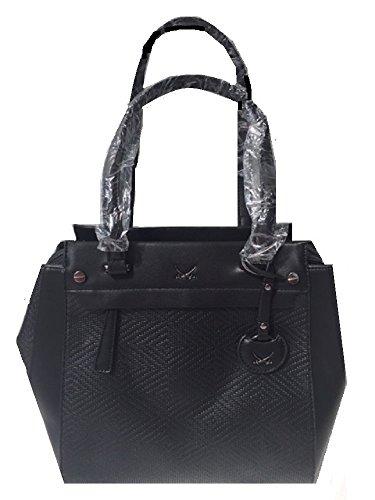 Sansibar Shopper Bag Damen Henkeltasche schwarz 39 cm Tasche Handtasche