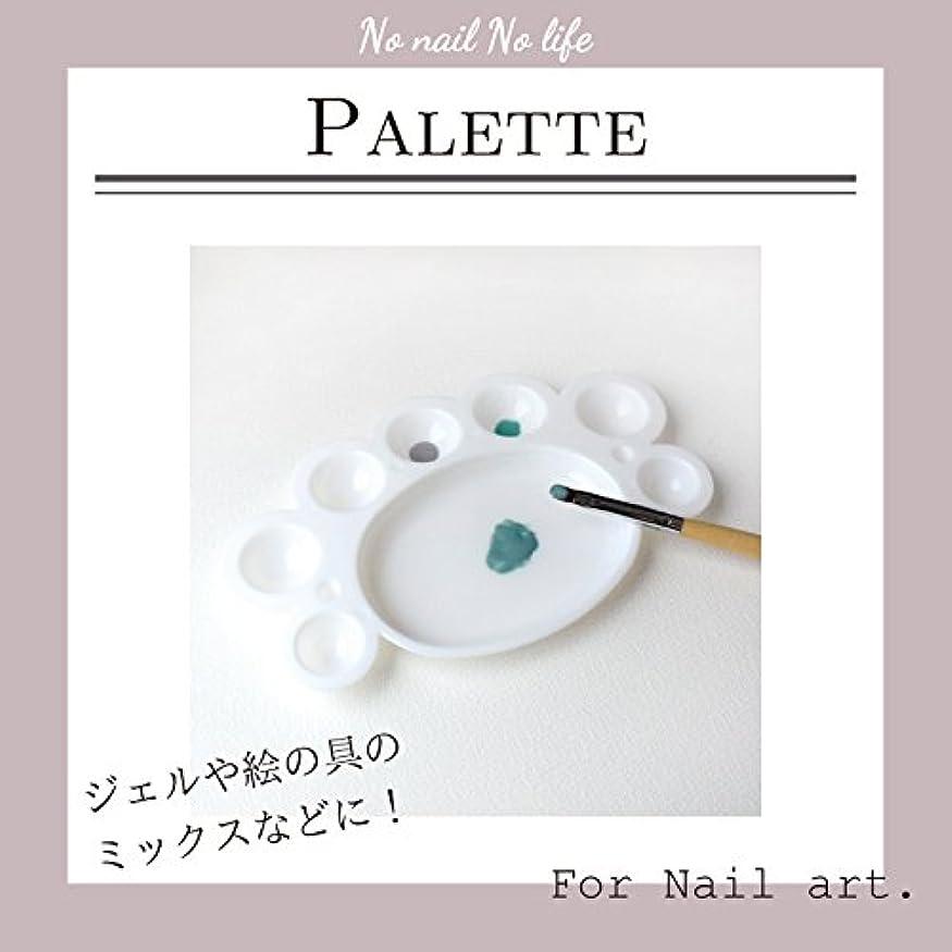 成り立つ蒸留感覚[ジェルネイル] カラーの調合に便利! ジェルネイルパレット〈 ホワイト 〉
