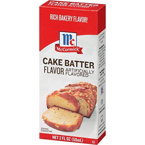 McCormick Imitation Cake Batter Flavor, 2 fl oz