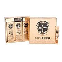 韓国産高麗人参エキス10ml x 30本入り韓国健康食品 Korean Black Ginseng Extract All-Time 10ml x 30 Sticks Health Food Grown Korea
