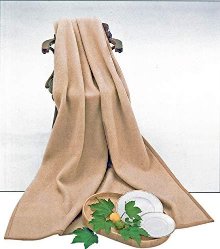 STEINBECK Decke Baku aus 100% Cashmere, Größe 150/220 Gewicht 1550g, Creme
