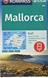 KOMPASS Wanderkarte Mallorca: 4in1 Wanderkarte 1:75000 mit Aktiv Guide und Detailkarten inklusive Karte zur offline Verwendung in der KOMPASS-App. ... Autokarte. (KOMPASS-Wanderkarten, Band 230)