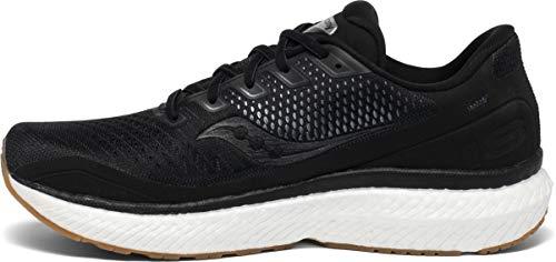 Saucony Men's Triumph 18 Road Running Shoe, Black/Gum, 11