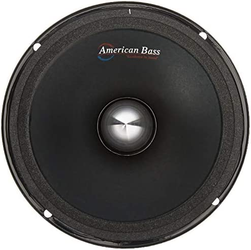 American Bass Usa neo65 6 5 Neo Magnet Powered Mid Range Speaker Runs 4 ohms at 250W RMS and product image