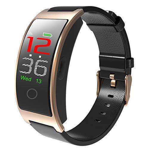 Smart Watch, Fitness Tracker Kleur Scherm Met Waterdichte Activiteit Tracker Met Hartslag Bloeddruk Monitor, Fitness Horloge Met Slaapmonitor Stappenteller Calorie Counter Voor Android & Iphone Goud
