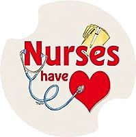 Thirstystone Nurse Car Cup Holder Coaster, 2-Pack [並行輸入品]