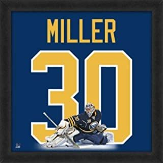 Ryan Miller Buffalo Sabres 20x20 Framed Uniframe Jersey Photo