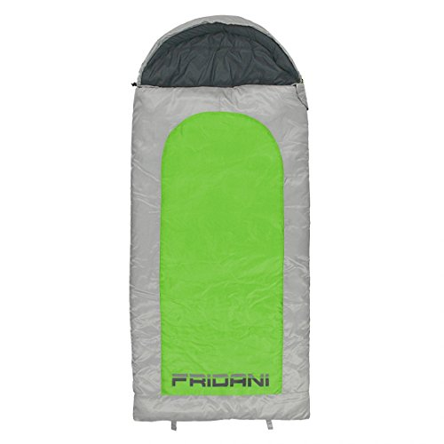 FRIDANI BG 180 K Short – Couvertures de Couchage, 180 x 80 cm, 1700 g,-15 °C (ext), 0 °C (Lim), 5 °C (Comf)