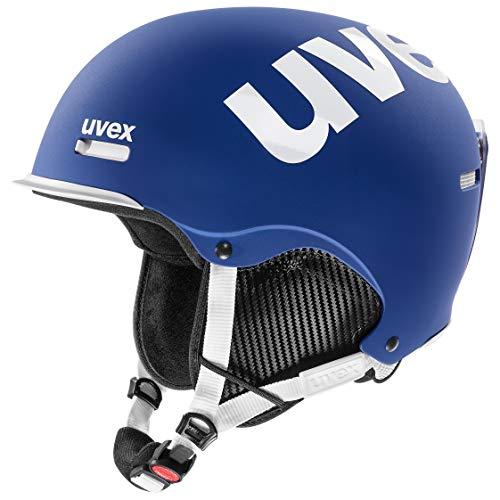 uvex Unisex– Erwachsene hlmt 50 Skihelm, cobalt-white mat, 55-59 cm
