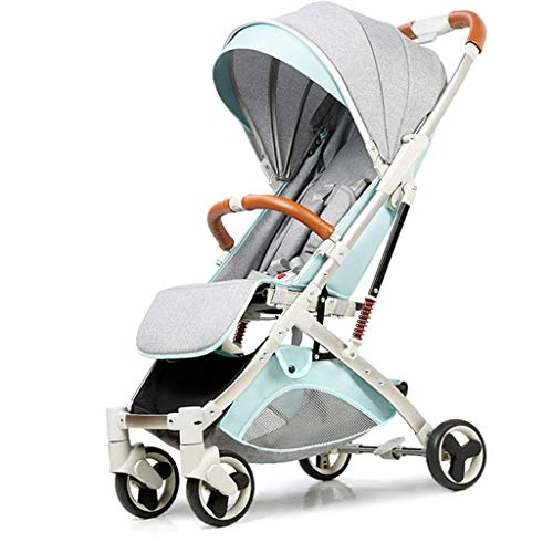 Why Should You Buy Lightweight Baby Stroller Compact Pushchair Kid Pram with Double Brake, Adjustabl...