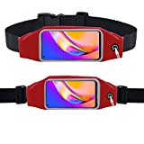 Oppo A94 5G Cintura – para hacer ejercicio, correr, correr, ciclismo, gimnasio, deporte y más, correa para teléfono móvil, correa para Oppo A94 5G, Red (Rojo) - KP-OPPO-A94-5G-WB