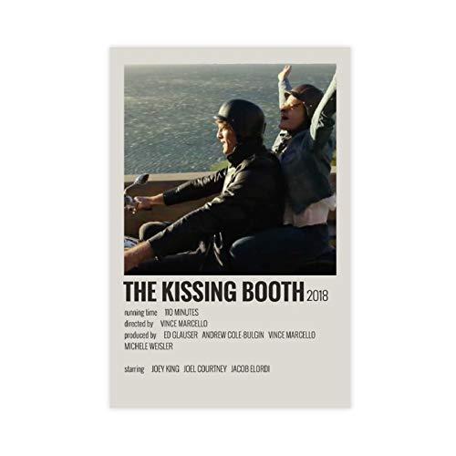 Poster vintage « The Movie The Kissing Booth » pour chambre, décoration murale, 30 × 45 cm, sans cadre, style 1