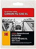 Kodak Supplies 185C054030 Tinta 600 Lados 21ml negro adecuado para Canon MG3150 compatible también 522(2/6) B005