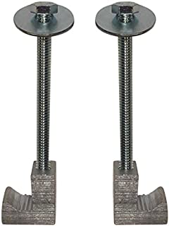(2 Pack) Easy Mount - Truck Tool Box J Clamps - Aluminum Tie Downs