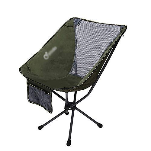XUMINGZDY Outdoor klappstuhl Mini zurück Angeln hocker mond Stuhl lagerung tragbare klappstuhl Direktor Skizze Rucksack klappstuhl Outdoor-lieferungen (Farbe : E)