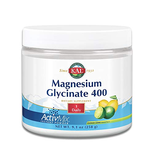KAL Magnesium Glycinate 400 ActivMix Powder | 9.1oz