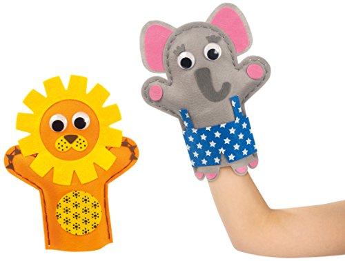 Goula Marionetas Leão e Elefante 52029