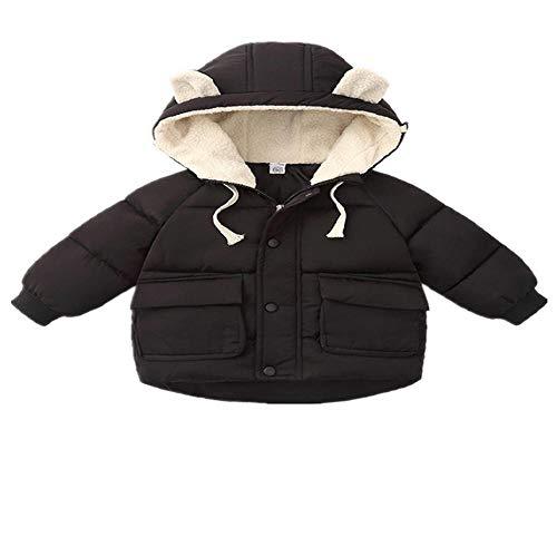 Chaquetas de invierno para bebé niña ropa de invierno cálido chaquetas de algodón con capucha Outwear para niños y niñas