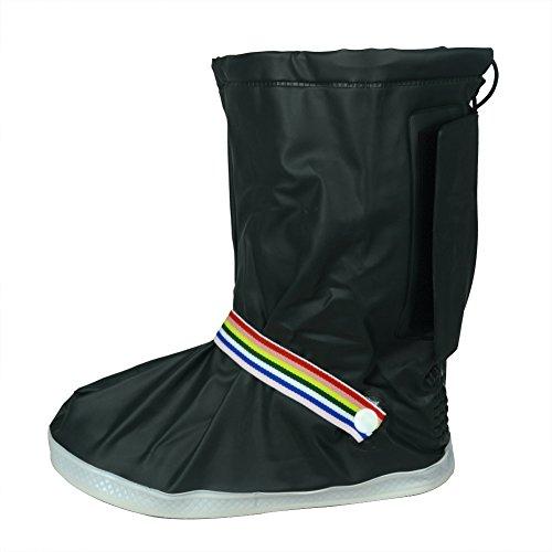 Unisexe New Design Fashion épaissir réutilisable étanche Chaussures Chaussures de coffre antidérapant Gear XL vert foncé