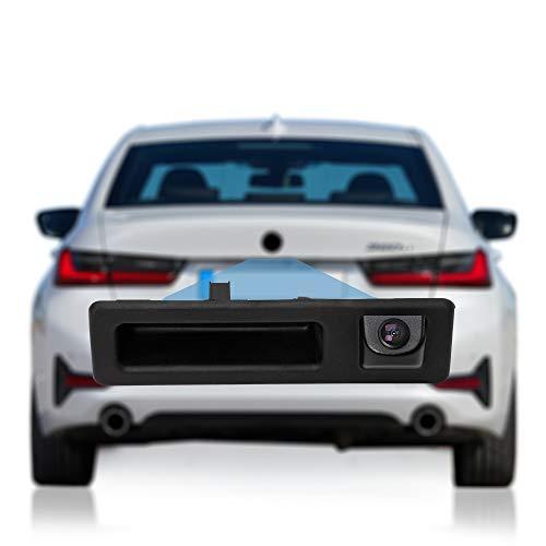 DYNAVISION - Telecamera posteriore per BMW Serie 3 F30 / 5er F10 F11 / X3 F25 / X4 F26 / X5 F15; CAMBH-BM002 Lite