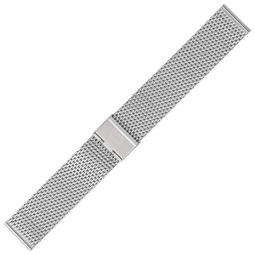 Tommy Hilfiger Uhrenarmband 22mm Edelstahl Silber - 679001390