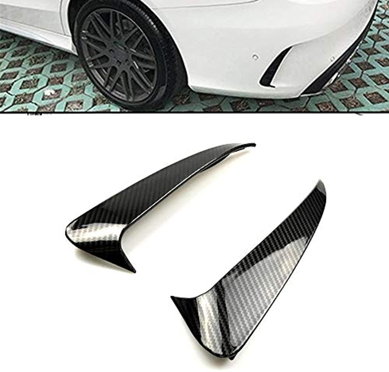 Rear Side Side Side Air Vent Stickers Fender Carbon Fiber Print for