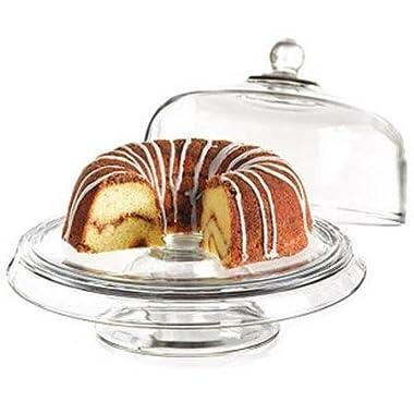Anchor Hocking Presence 4-1 Cake Set