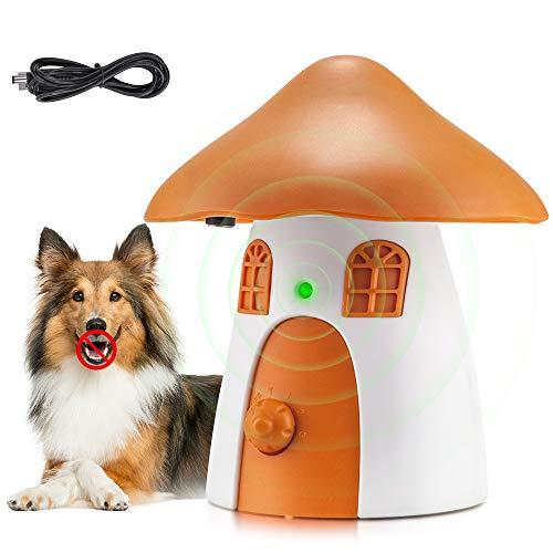 Ultrasuoni per Cani, Innocuo Dispositivo di Controllo Anti-Abbaiamento, Portatile per Abbaiare Il Cane, Antiabbaio Sicuro Dispositivo per Addestramento Umano per Cani
