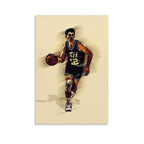 DANSHI Para póster de baloncesto, cuadro decorativo, lienzo para pared, sala de estar, póster para dormitorio, 30 x 45 cm