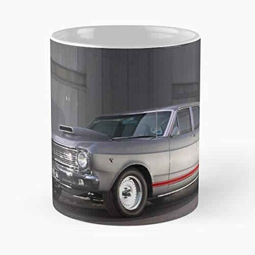 Desconocido 66 1966 Auto Automobile Automobiles Car Cars Autos Taza de café con Leche 11 oz