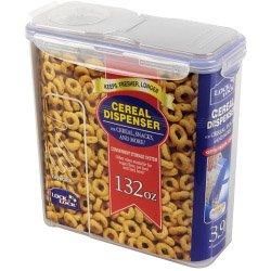 Price comparison product image Lock & Lock Food Storage Container - Cereal Dispenser 3.9L (245 x 111 x 247mm) (721964)