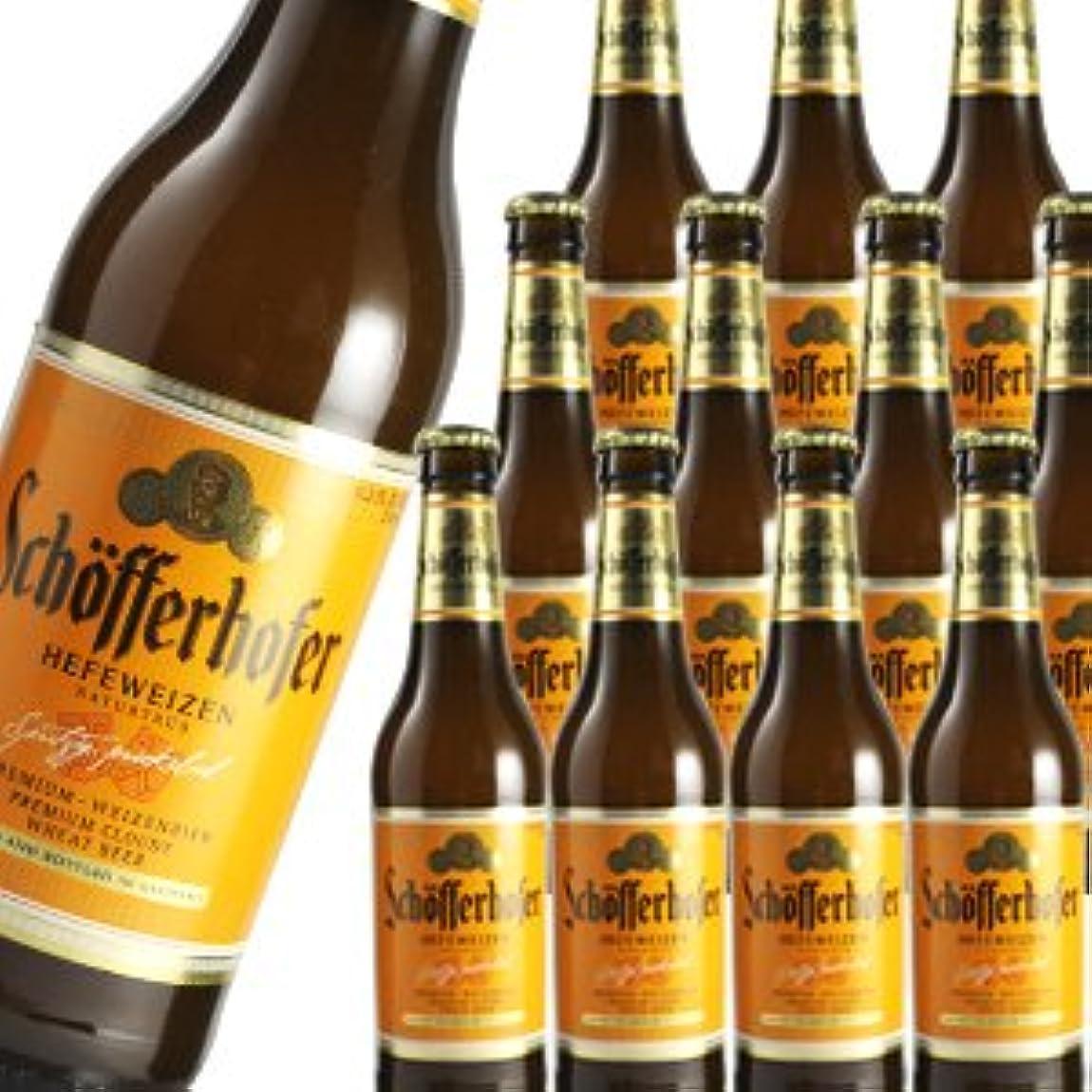 偽善大きなスケールで見ると補助金ドイツビール シェッファーホッファー ヘフェヴァイツェン 330ml瓶×24本