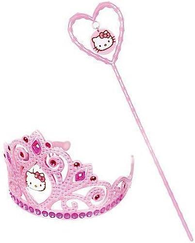 Cakesupplyshop Rosa Hello Kitty Tiara and Wand Set by CakeSupplyShop